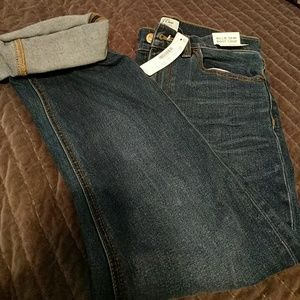 J Crew Billie Demi Boot crop Jeans  size 26